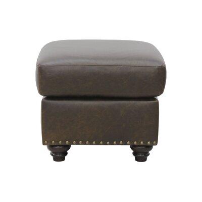 Bucoli Leather Ottoman