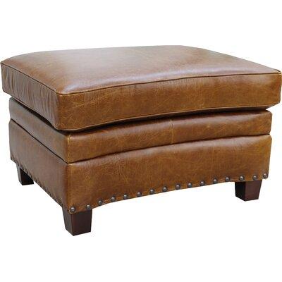 Ashton Leather Ottoman