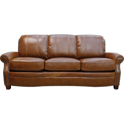 Halliburton Leather Sofa