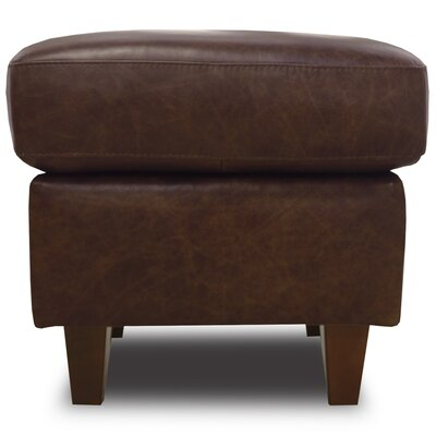 Nyquist Leather Ottoman