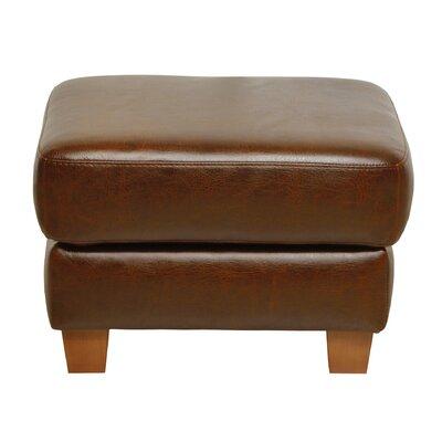 Oaks Leather Ottoman