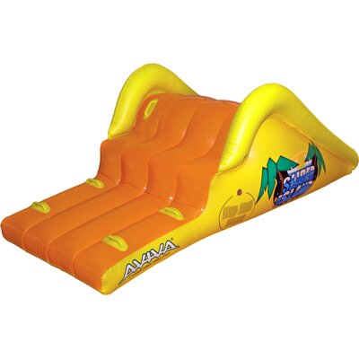 Slick Slider Island Pool Float