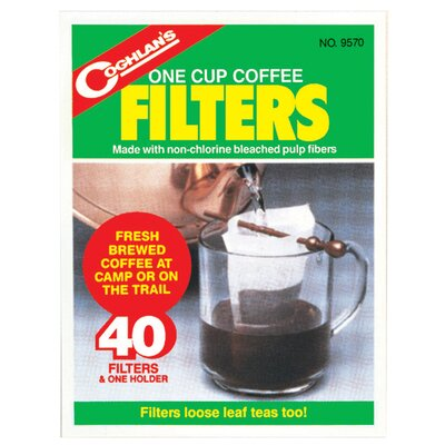 One Cup Coffee Filters 9570