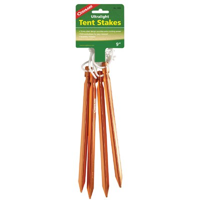 9 Ultralight Tent Stakes