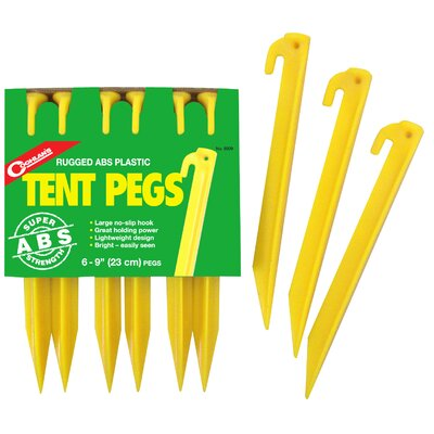 9 Tent Pegs