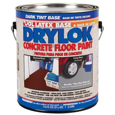 UGL 116 Oz Dark Tint Base Drylok Latex Base Concrete Floor Paint L (Set of 2) at Sears.com