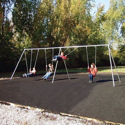 Primary Bipod Swing Set Size: 8ft With 6 Seats 581-618
