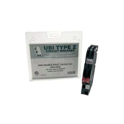 Thin Series Type Z 30 Amp Dual Pole Circuit Breaker