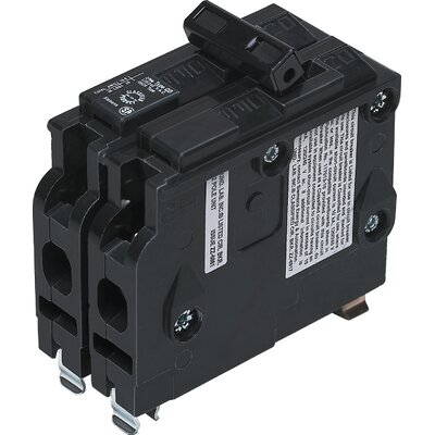 Type QD Dual Pole Circuit Breaker Amperage: 40 Amps