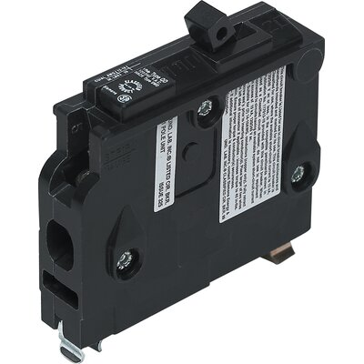 Type QD Single Pole Circuit Breaker Amperage: 15 Amps
