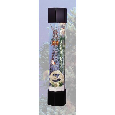 Buy low price midwest tropical fountain aquatower 50 for Tower fish tank