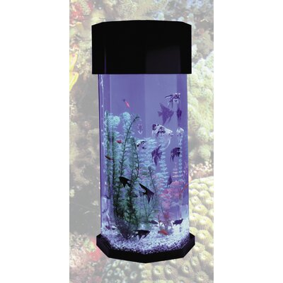 Buy low price midwest tropical fountain aquascape 10 for Octagon fish tank with stand