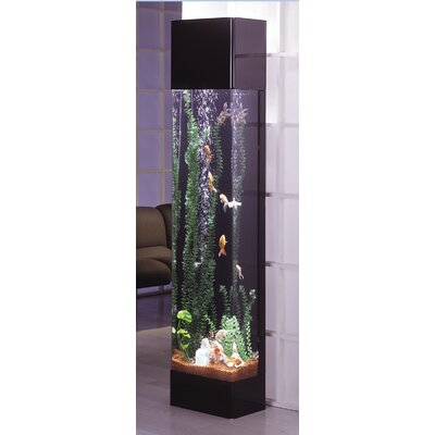 Buy low price midwest tropical fountain aquatower 30 for Narrow fish tank