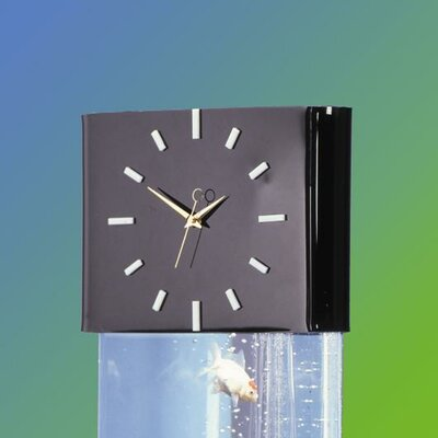 Aqua Clock Header Aquarium Stand