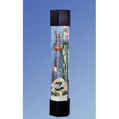 Aqua Tower Hexagon Aquarium Kit Size: 50 Gallons