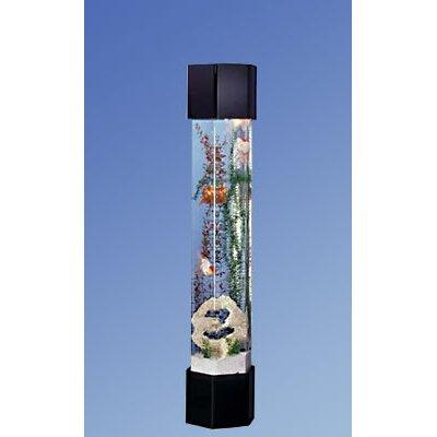 Aqua Tower Hexagon Aquarium Kit Size: 30 Gallons