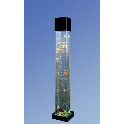 Aqua 20 Gallon Tower quare Aquarium Kit