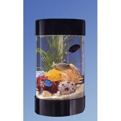 Aqua 8 Gallon Round Aquarium Kit