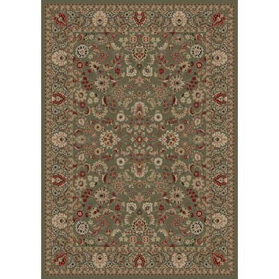 "Concord Oriental Classics Mahal Green Rug - Rug Size: 5'3"" x 7'7"" at Sears.com"