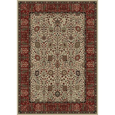 "Concord Oriental Classics Vase Ivory Rug - Rug Size: 5'3"" x 7'7"" at Sears.com"