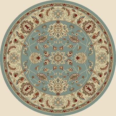 "Concord Arthur Oushak Blue Rug - Rug Size: Round 5'3"" at Sears.com"