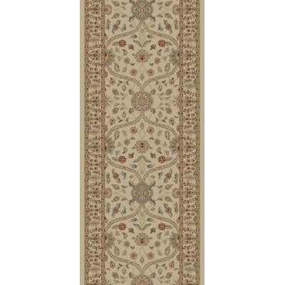 "Concord Gem Voysey Ivory/Tonel Rug - Rug Size: 2'3"" x 7'7"" at Sears.com"