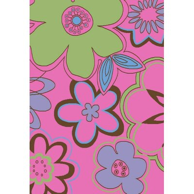 "Concord Alisa Groovy Flowers Kids Rug - Rug Size: 2'7"" x 4'1"" at Sears.com"