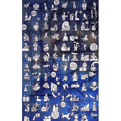 "Concord New York City Icons Novelty Rug - Rug Size: 6'7"" x 9'3"" at Sears.com"