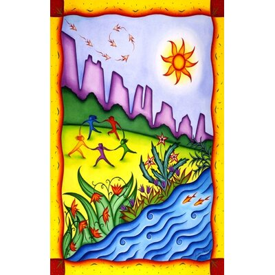 "Concord New York City Riverside Park Neighborhood Novelty Rug - Rug Size: 5'3"" x 7'3"" at Sears.com"