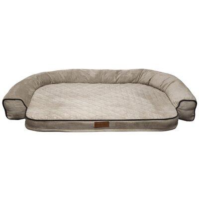 Comfy Pooch Dog Bed Color: Diamond / Gray