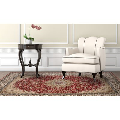 Regency Red Area Rug Rug Size: Rectangle 8' x 10'2
