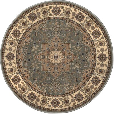 Triumph Green Area Rug Rug Size: Round 78