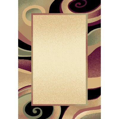 Evolution Cream Area Rug Rug Size: Rectangle 52 x 76