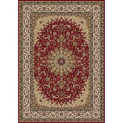 Regency Red Area Rug Rug Size: Rectangle 2 x 38