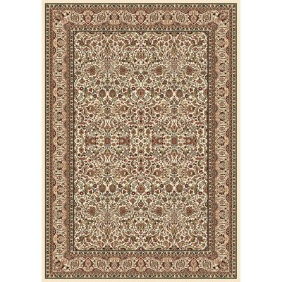Regency Ivory Area Rug Rug Size: Rectangle 92 x 126