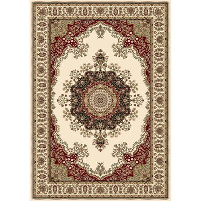 Regency Ivory Area Rug Rug Size: Rectangle 2 x 38