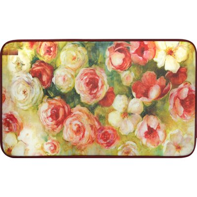 Chilton Roses Oversized Anti Fatigue Kitchen Mat