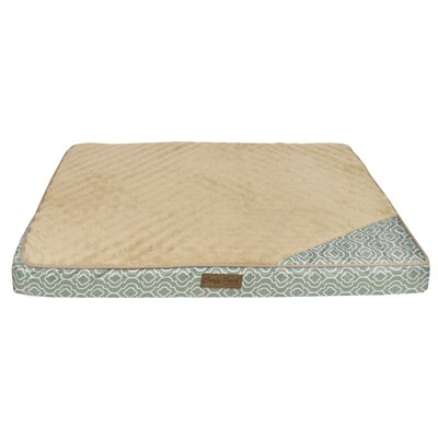 Comfy Pooch Crate Mat Color: Teal