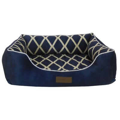 Comfy Pooch Couch Bolster Color: Navy Blue