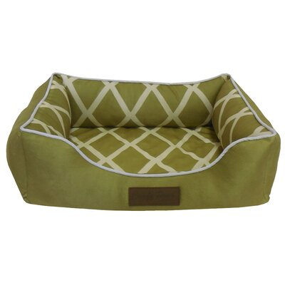 Comfy Pooch Couch Bolster Color: Green