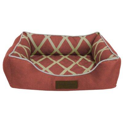Comfy Pooch Meggie Pet Bed Size: Large (28 L x 20 W), Color: Spice