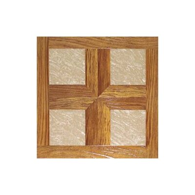 "Home Dynamix 16"" x 16"" Vinyl Tiles in Paramount Woodtone/Taupe Marble at Sears.com"