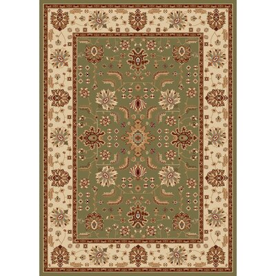 Madlena Green / Ivory Oriental Rug