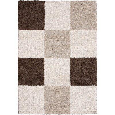 Lexington Ivory/Beige Rug Rug Size: 33 x 47