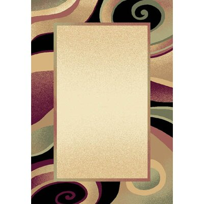 Evolution Cream Area Rug Rug Size: Runner 21 x 72