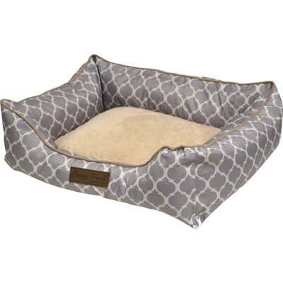 Comfy Pooch Printed Bed Size: 28 L x 20 W, Color: Classic Gray