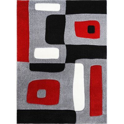 Sumatra Blocks Area Rug Rug Size: 18 x 28