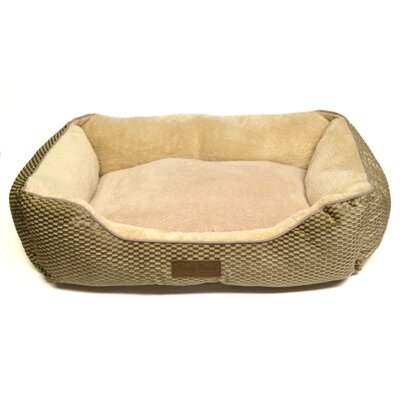 Comfy Pooch Textured Microfiber Bed Size: Small (20 L x 16 W)