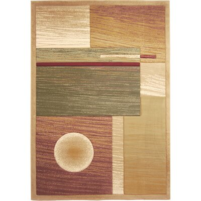 Briley Area Rug Rug Size: 54 x 75