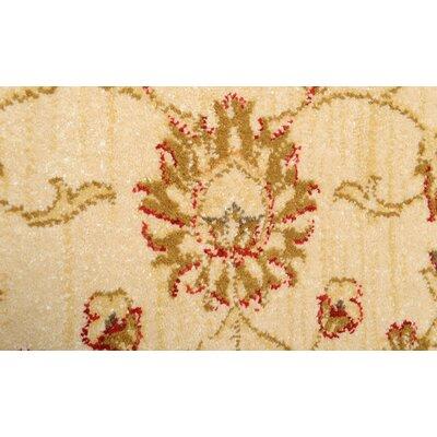 Woodcliff Cream/Red Area Rug